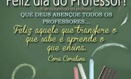 Que Deus abençoe todos os professores