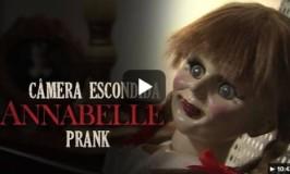 Vídeo com a pegadinha da annabelle