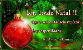 Um lindo Natal no amor de Deus