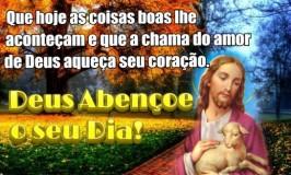 A chama do amor de Deus