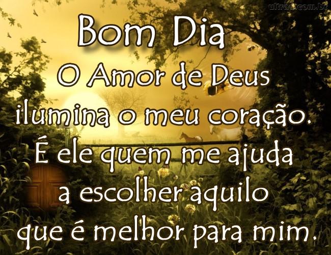 O Amor De Deus Ilumina O Meu Coração Mensagens Angels