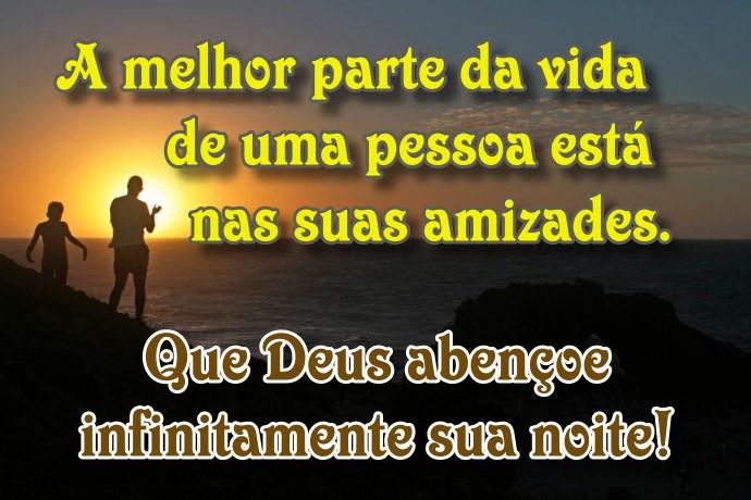 Boa Noite Deus Abencoe: Que Deus Abençoe Infinitamente Sua Noite!