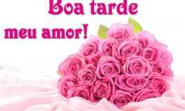 Boa tarde meu amor!