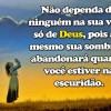 Depender de Deus