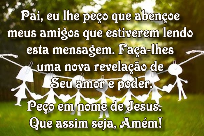 Oração para os amigos